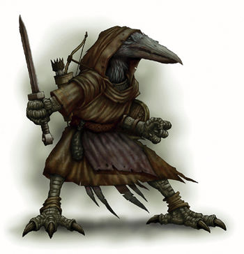 D&D Monster Spotlight: Kenku - Bell of Lost Souls