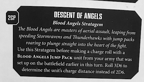 40K: Four Dirty Blood Angels Combos - Bell of Lost Souls