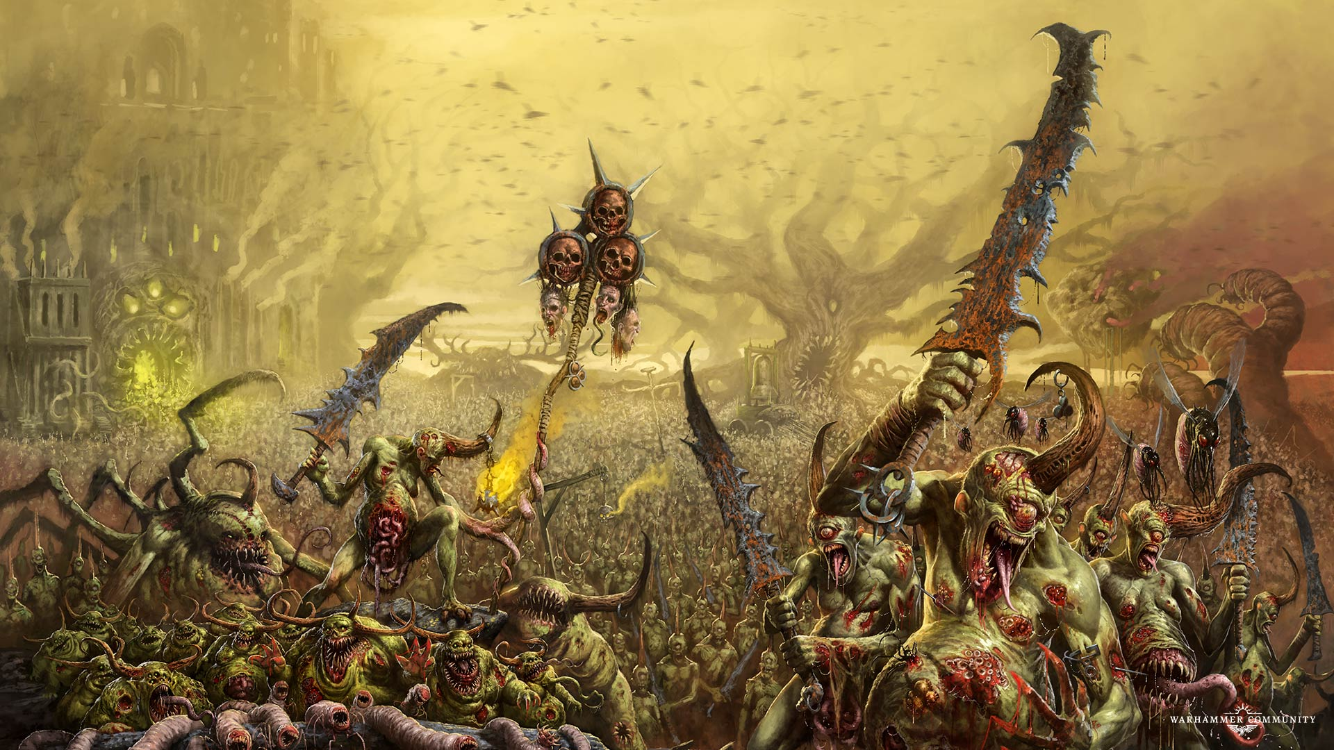 Two New Nurgle Heralds Lead The Charge Bell Of Lost Souls