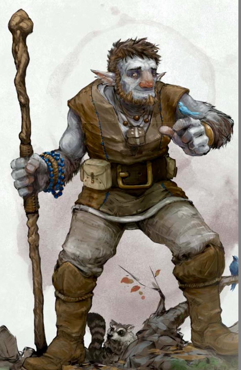 D&D Monster Spotlight: The Transformation Of The Firbolg