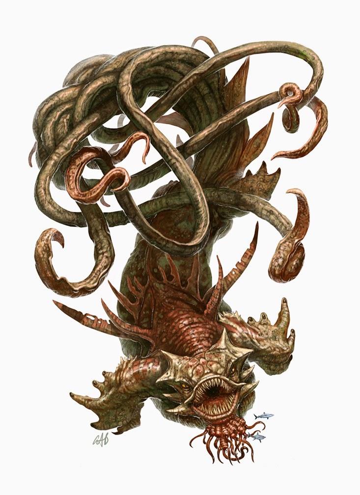 D&D Monster Spotlight: The Kraken - Bell of Lost Souls