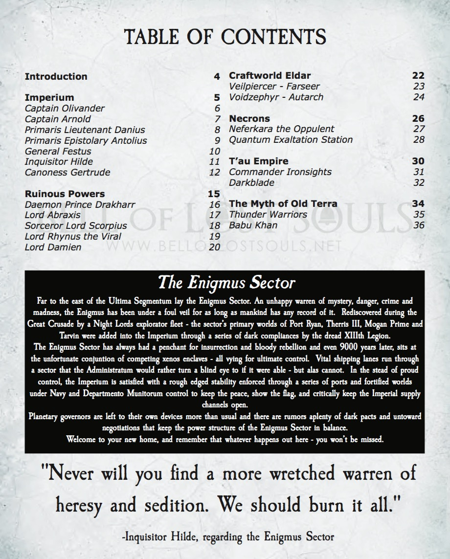 40K For the Masses: How To Build A Campaign Part 2 - The