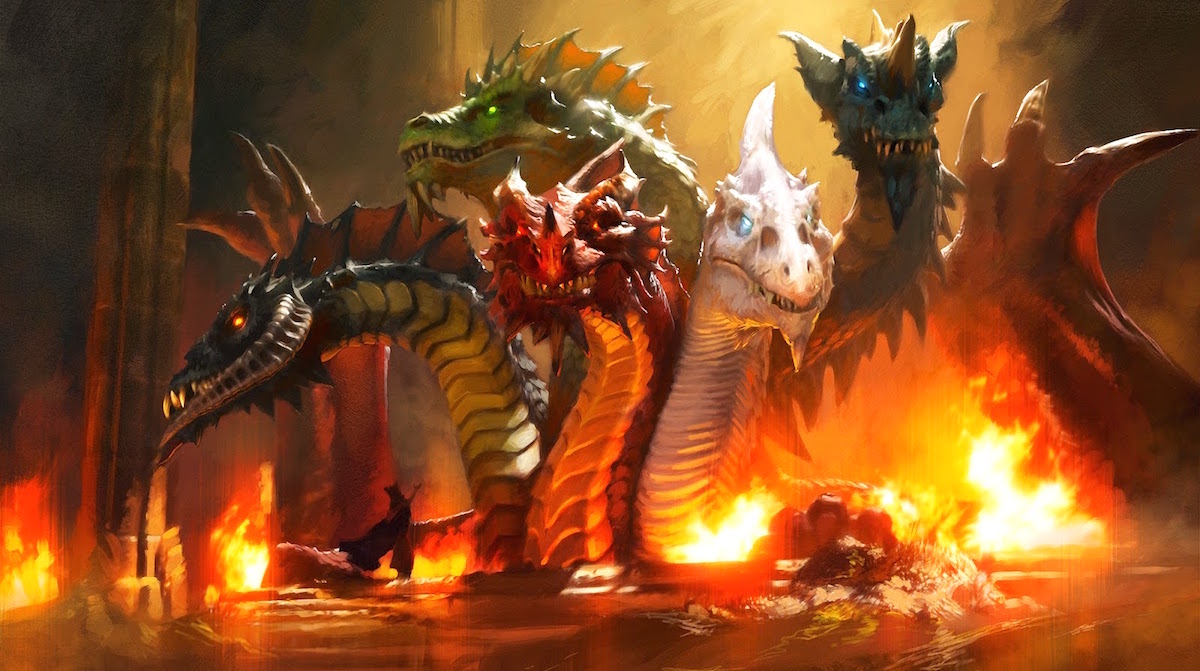 D D Five Dragons Five Items One Goddess Tiamat S Best Magic Items Bell Of Lost Souls Looking for guides on how to best optimise or build a class or concept in your d&d 5th edition game? d d five dragons five items one