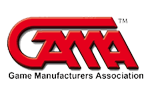 Proud member of GAMA, the Game Manufacturers Association