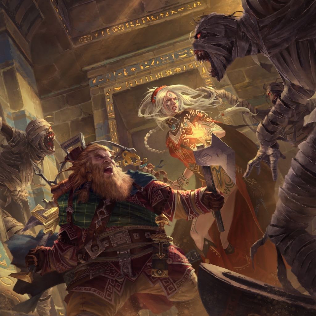 Pathfinder: Playtesting Combat in 2nd Edition - Bell of Lost