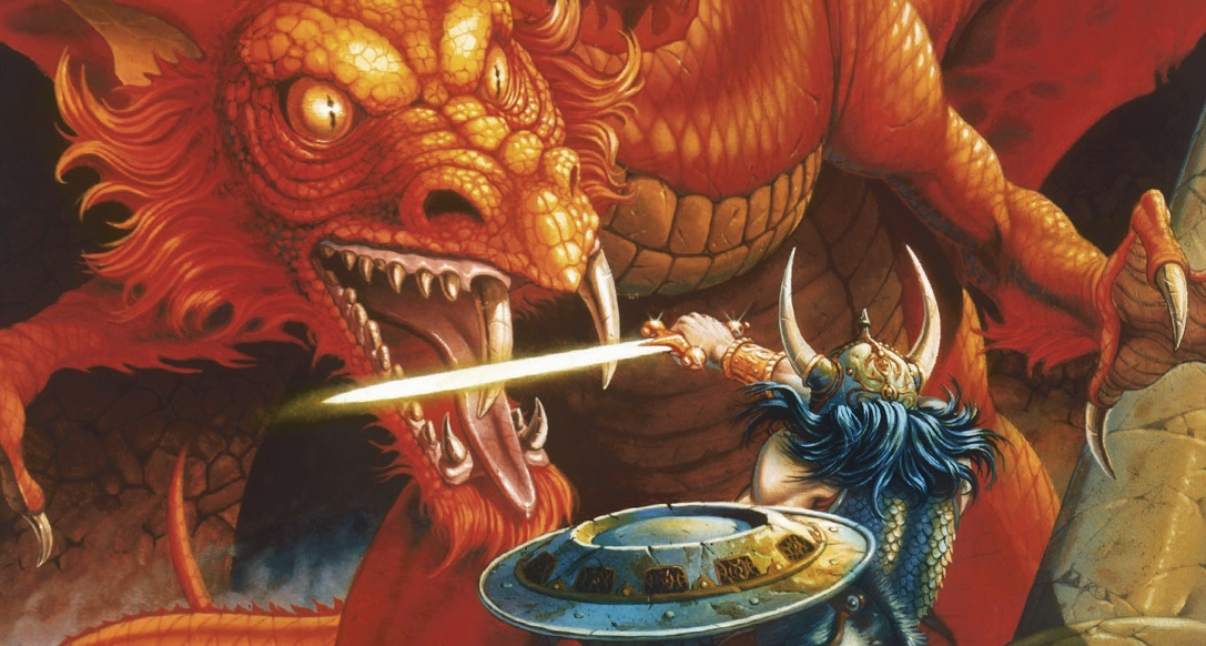 Image result for D&D red box basic set