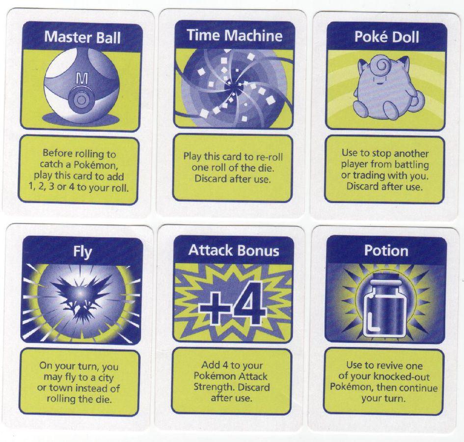 POKEMON MASTER TRAINER EVENT CARD TAKE ITEM CARD 1