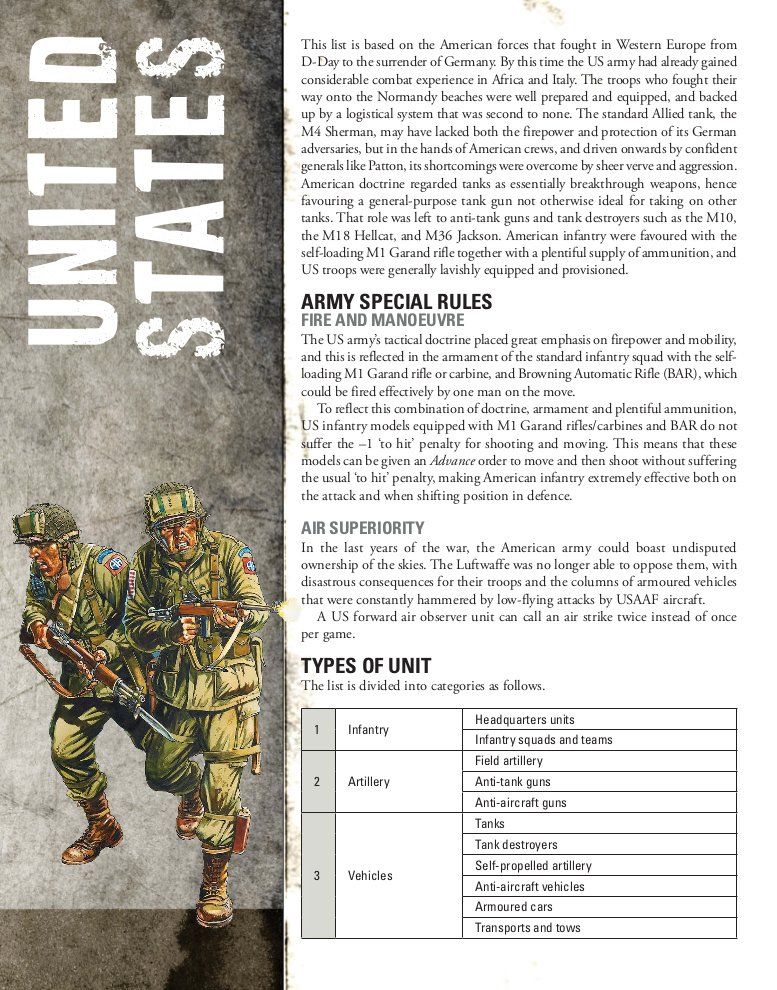 United States Army in Bolt Action - Review