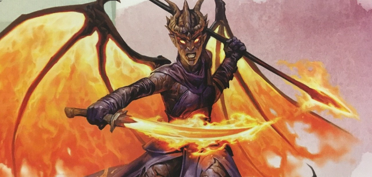 D&D: Check out Zariel from Mordenkainen's Tome of Foes