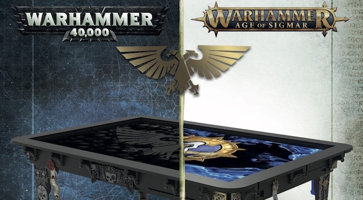 These New 40k Aos Game Tables Look Fantastic Bell Of Lost Souls