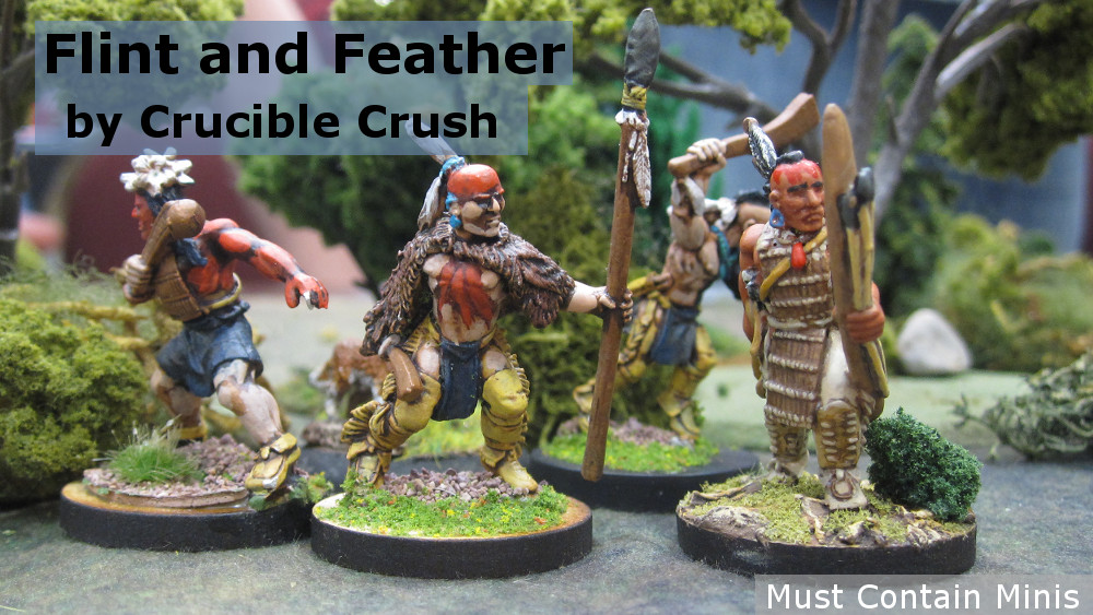Flint and Feather Miniatures by Crucible Crush