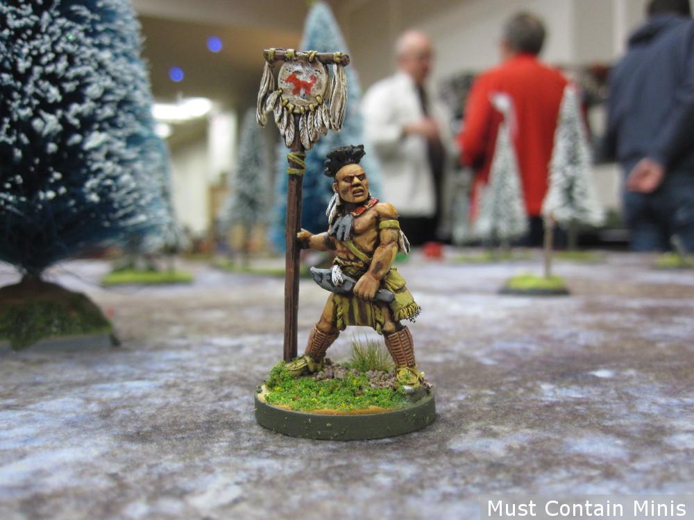 Wendat or Huron War Companion Miniature by Crucible Crush