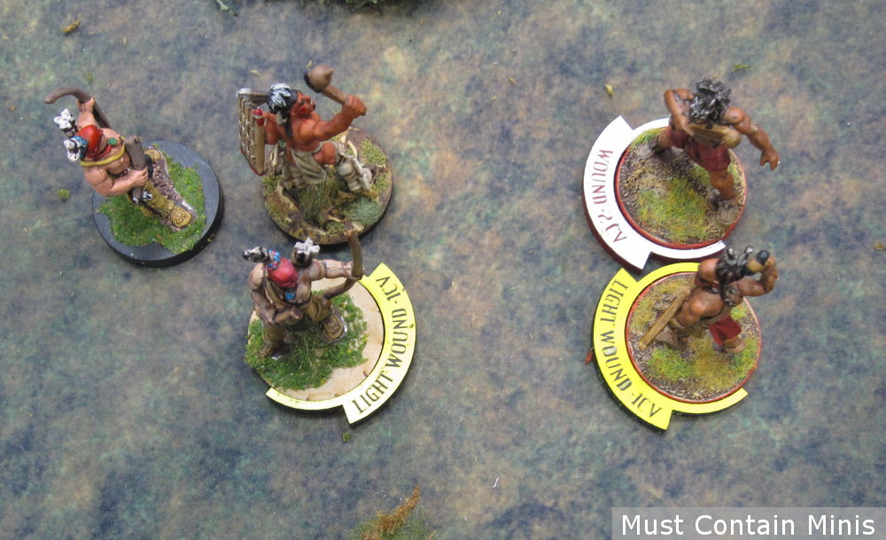 Tokens for Flint and Feather