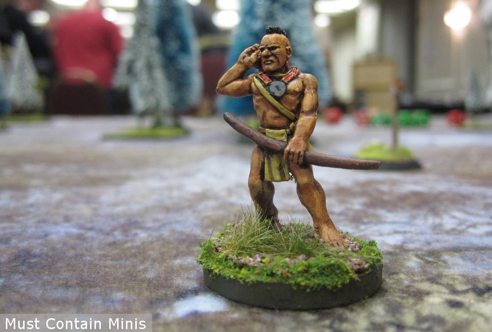 A Native American Archer Miniature
