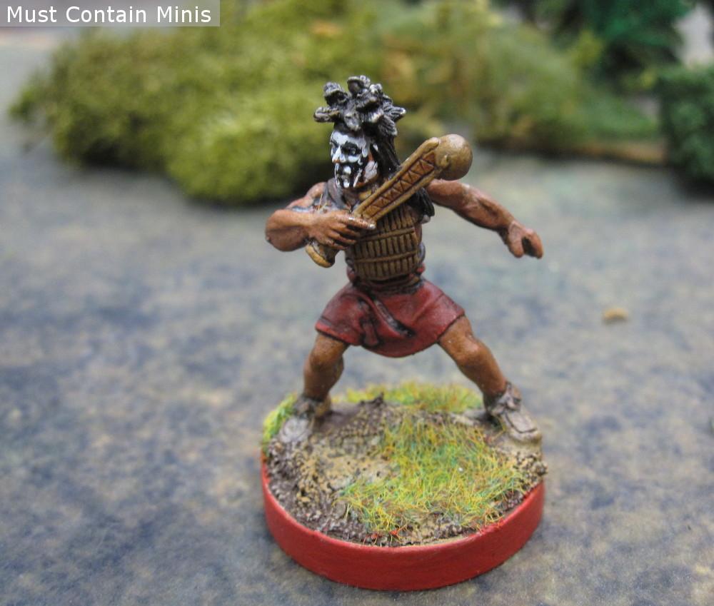 Haudenosaunee Warrior miniature by Crucible Crush