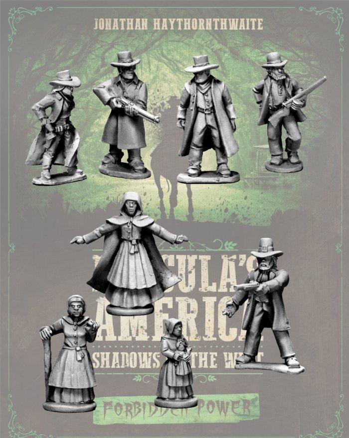 The Salem Sisterhood - Forbidden Power - Dracula's America Miniatures