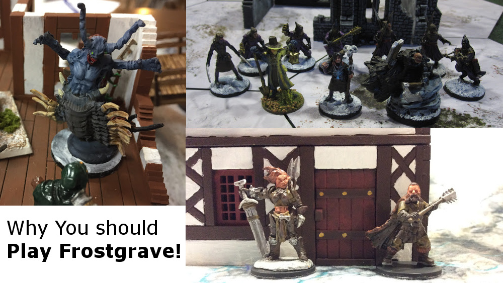 Why you should be playing Frostgrave by Osprey Games