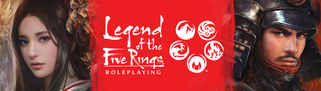 Fantasy Flight Games Announces Legend of the Five Rings RPG