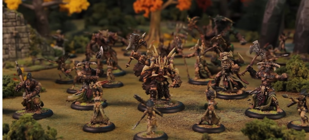 Privateer Press: The Tharn Are Coming - CID Has Launched