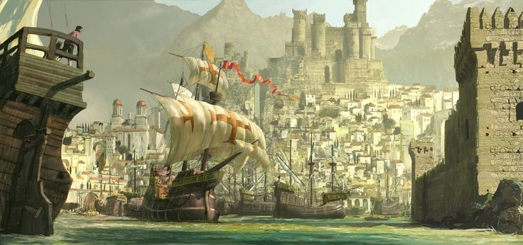 RPG: Create Fantastic Cities In Minutes With This Fantasy City