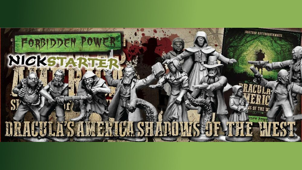 Dracula's America Shadows of the West Forbidden Power Title Slate