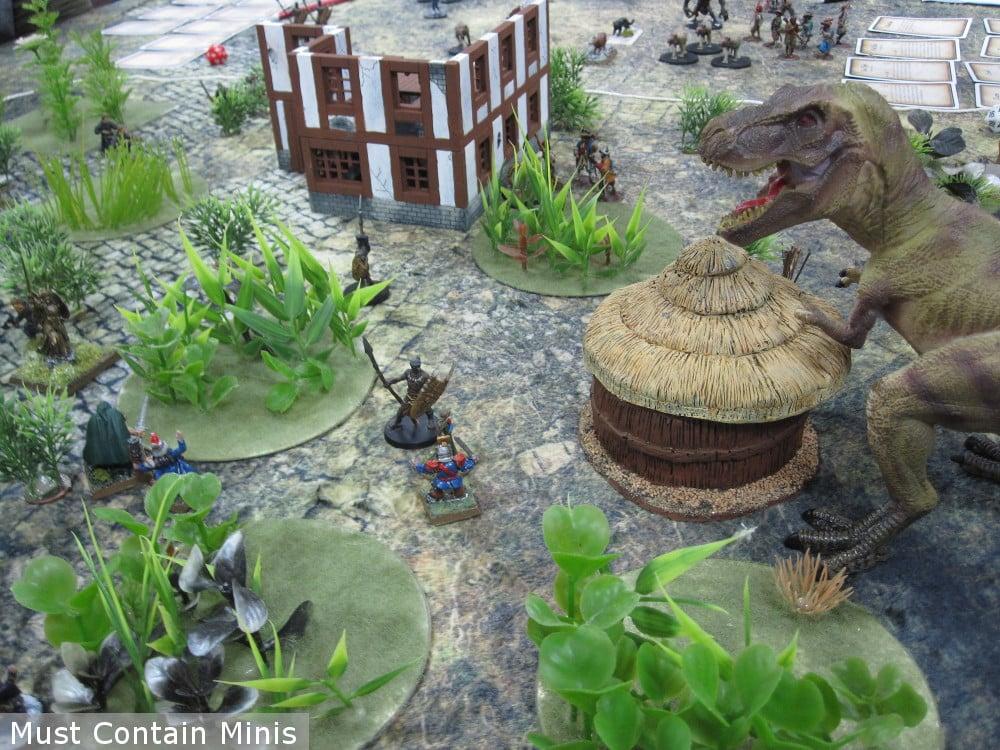 Dinosaur in Frostgrave Ghost Archipelago