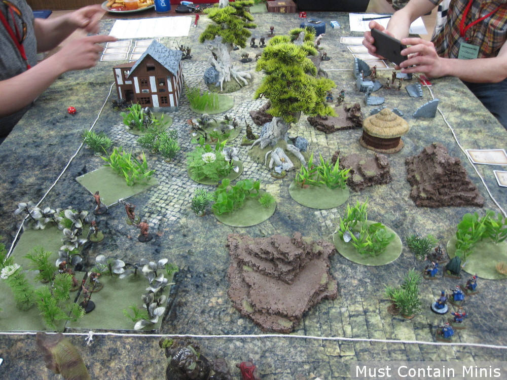 Ghost Archipelago Battle Table - Convention Report