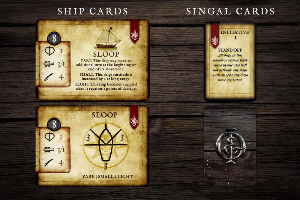 Oak and Iron Game Preview - Cards - Kickstarter