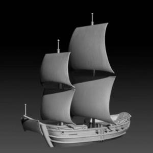 Oak and Iron Game Preview - 1/600 ships - Kickstarter