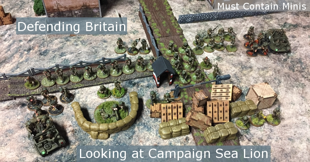 Campaign Sea Lion for Bolt Action