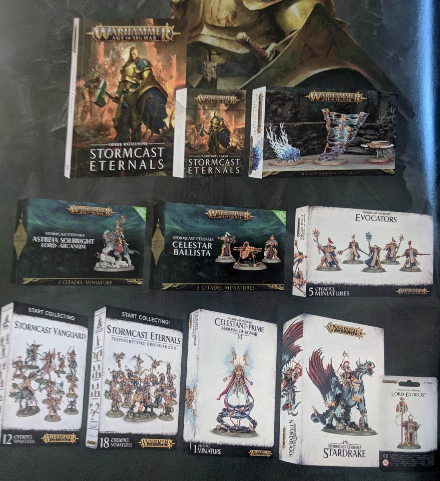 Warhammer Age Of Sigmar Dreadblade Harrows ... Games Workshop Easy to Build