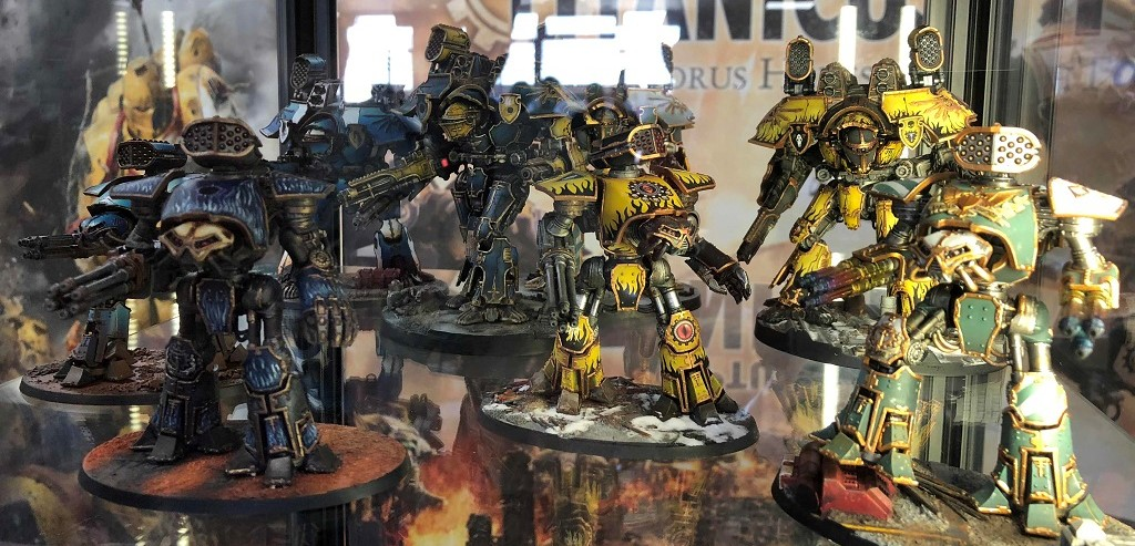 40K: Adeptus Titanicus At Forge World Open Day - Titans And
