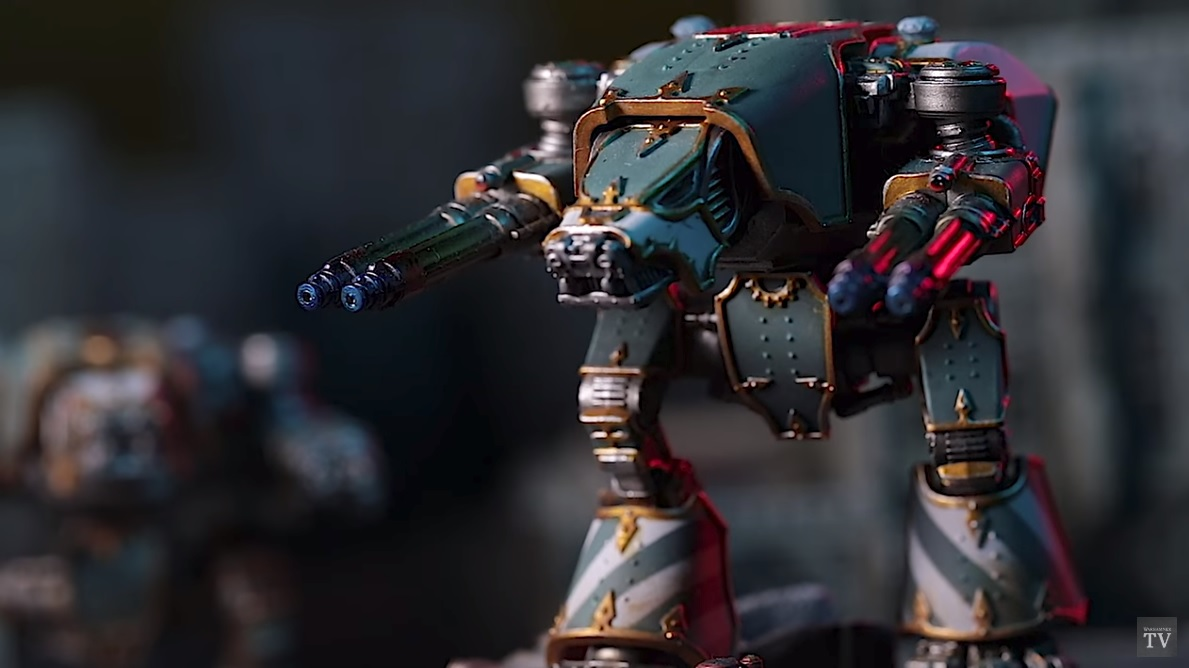Adeptus Titanicus: Bringing The Models To The Tabletop