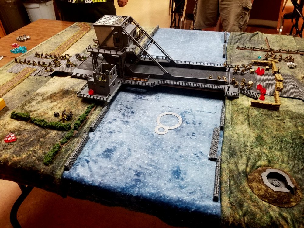 Market Garden Campaign for Bolt Action - Pegasus Bridge
