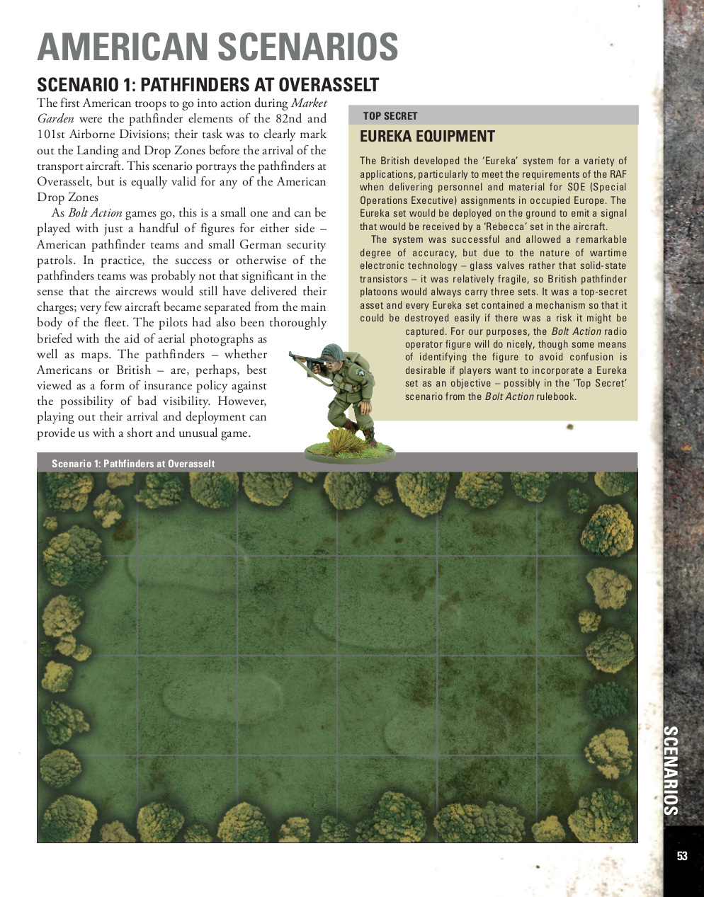 American Bolt Action Scenarios in Market Garden