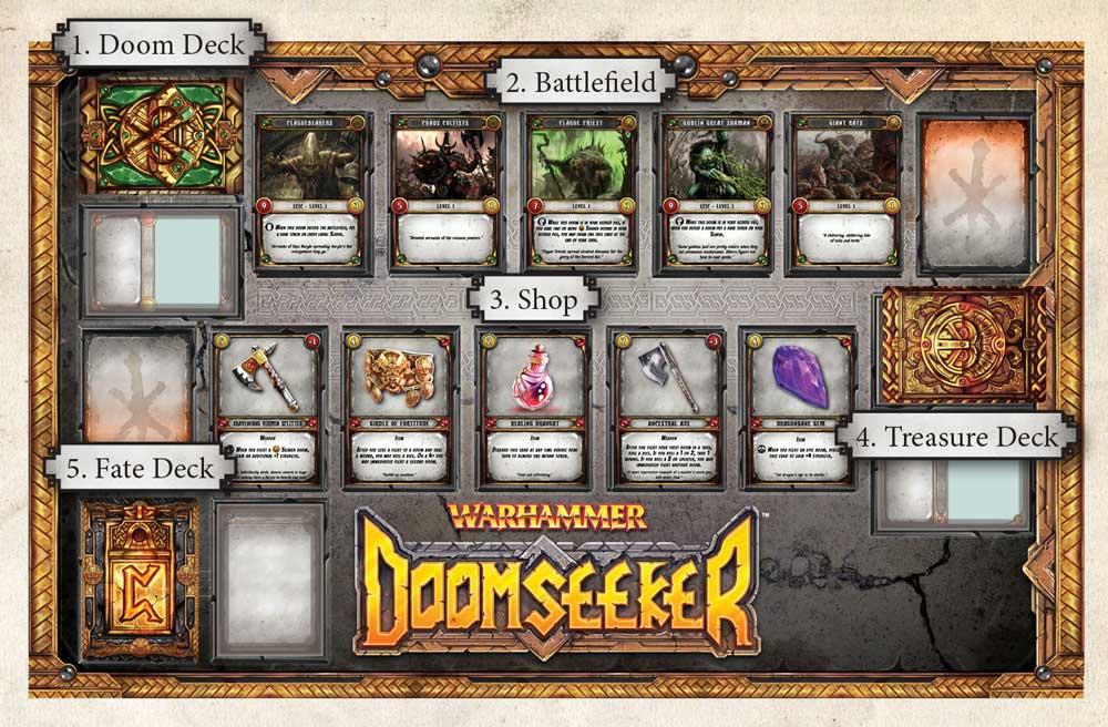 Warhammer Doomseeker Ninja Division Games Board Game New!