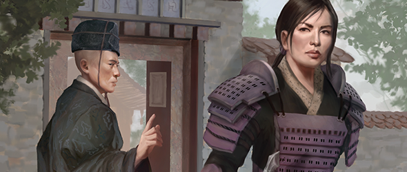Underhand of the Emperor Clan Pack for Legend of the Five Rings Card Game