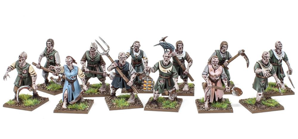 Zombie Townsmen Miniatures