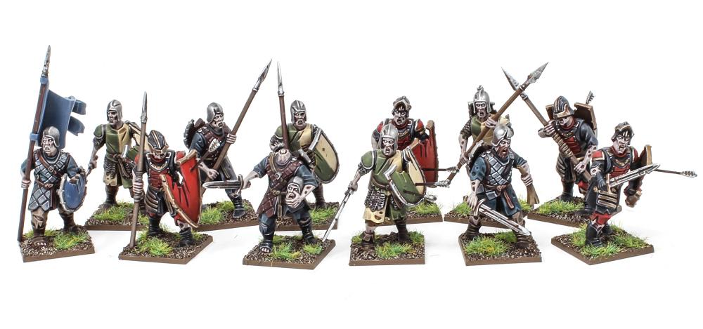 Forgotten Wolrd Living Dead Warriors