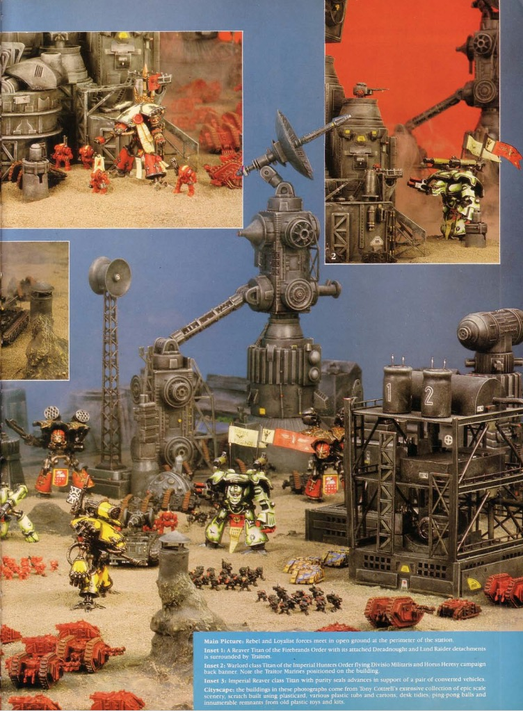 40K RETRO: Adeptus Titanicus' First Month and One Hell of a Good Story -  Bell of Lost Souls