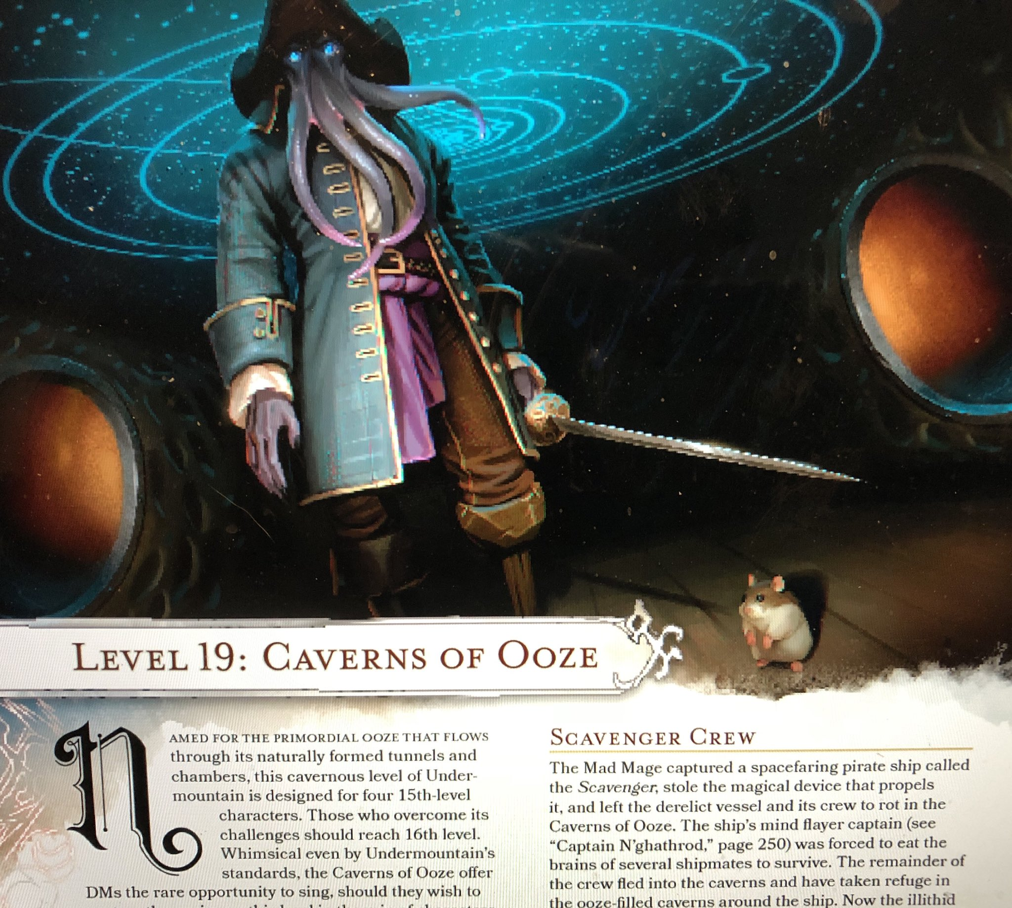 D&D: There's A Mind-Flayer Spelljammer Captain In Dungeon Of The Mad