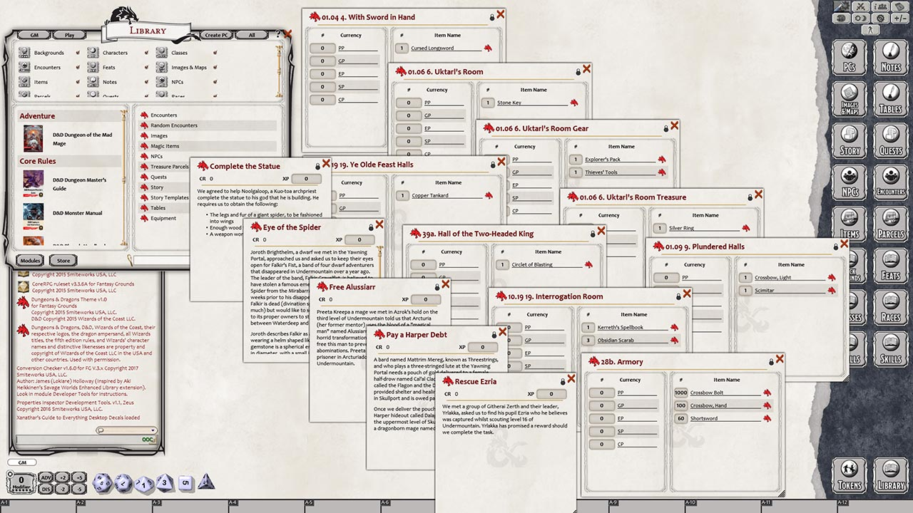 D&D: Dungeon Of The Mad Mage Preview On Fantasy Grounds - Bell of