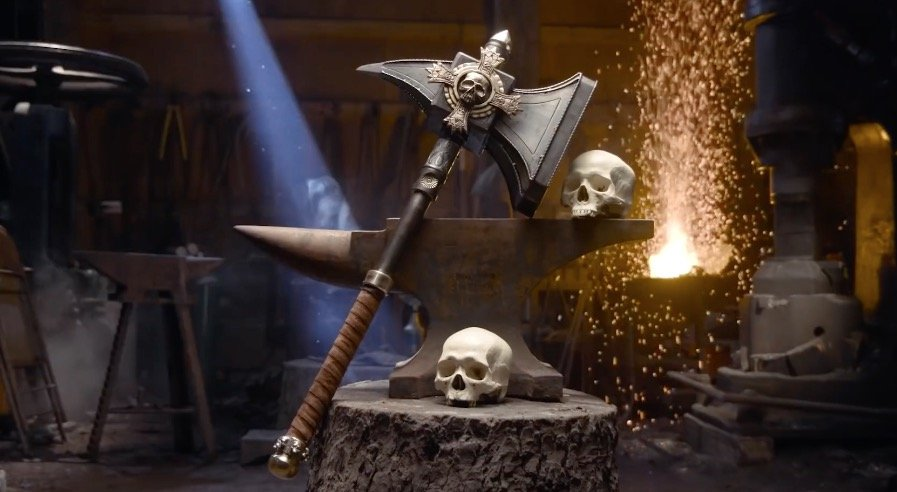 Ghal Maraz LIVES! MAN AT ARMS: REFORGED Brings Sigmar's Hammer to Life -  Bell of Lost Souls