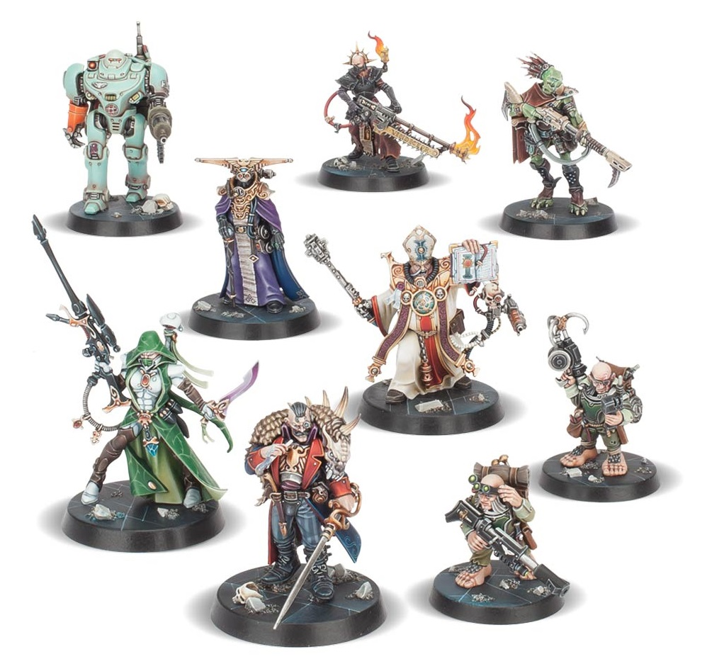 Warhammer Quest Blackstone Fortress Ratling Twins Raus and Rein