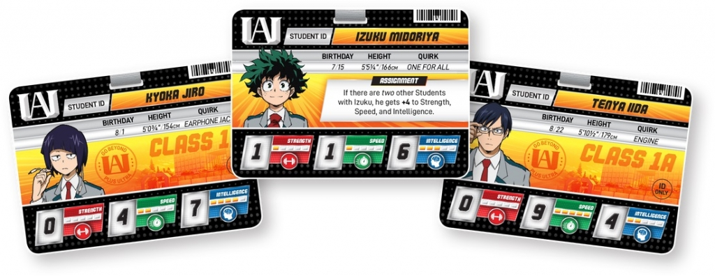Go Beyond Plus Ultra With The New 'My Hero Academia' Card