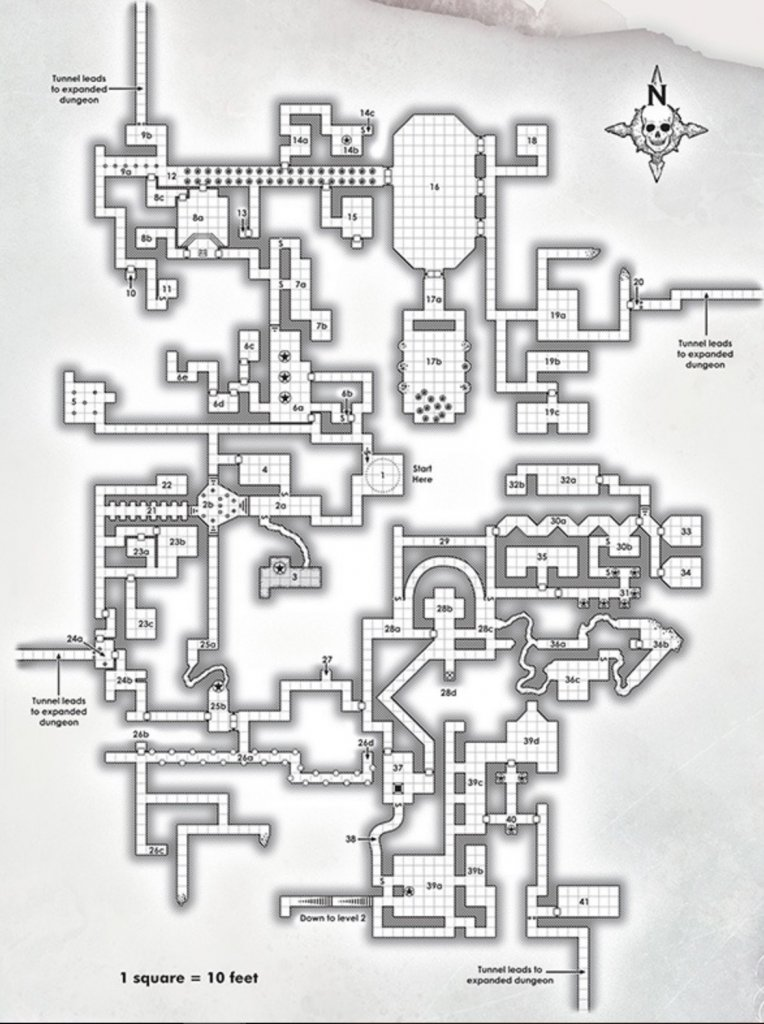 D&D: Dungeon Of The Mad Mage's Maps Are Intricate And