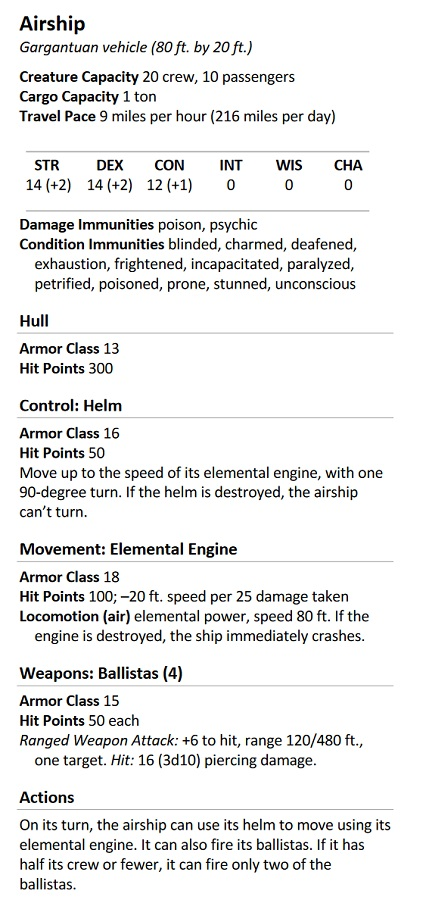 D&D: I Ship These New Naval Combat Rules - Bell of Lost Souls