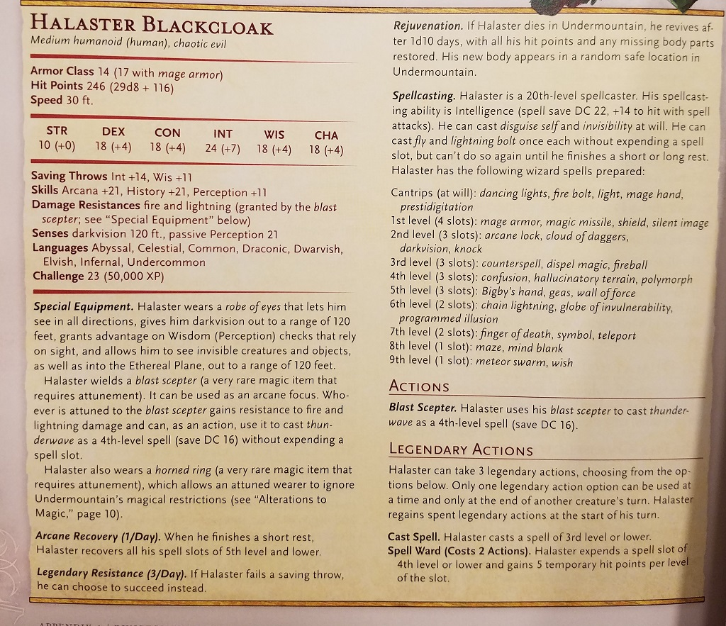D&D: Dungeon Of The Mad Mage - Halaster Blackcloak Will Kill