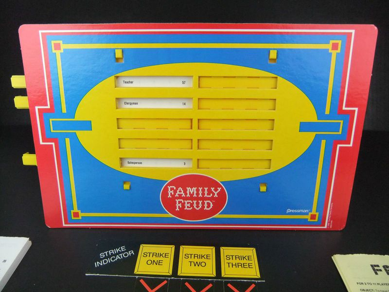 RETRO: Survey Says    Family Feud Board Game Is What You'd