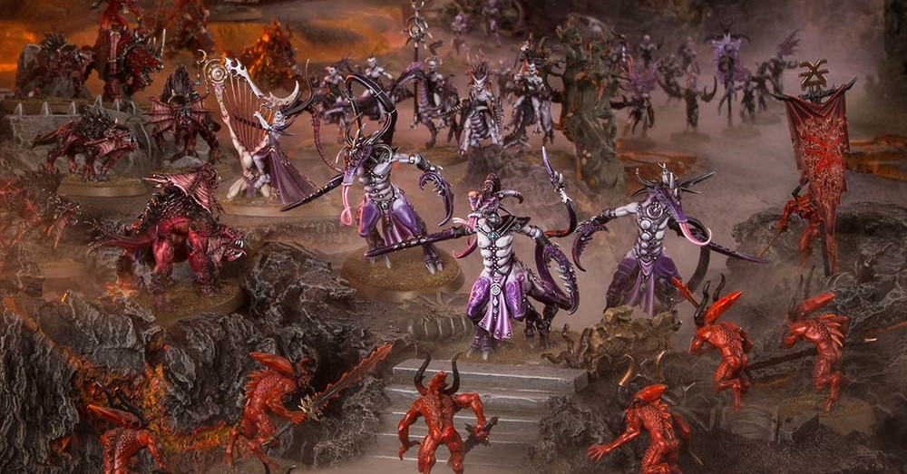 Wrath And Rapture's New Fiend Rules Are Bringing Slaaneshi Back